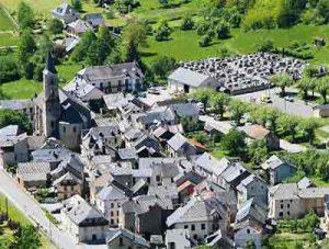 Biert village ariege pyrenees