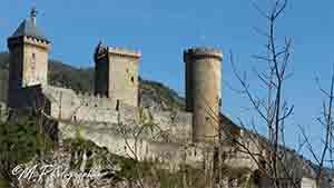 Chateau de Foix Ariège Pyrénées