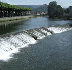 Le Salat rivière Ariège Pyrénées