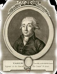 Vadier alexis-guillaume revolutionnaire francais, originaire de pamiers ariege pyrenees