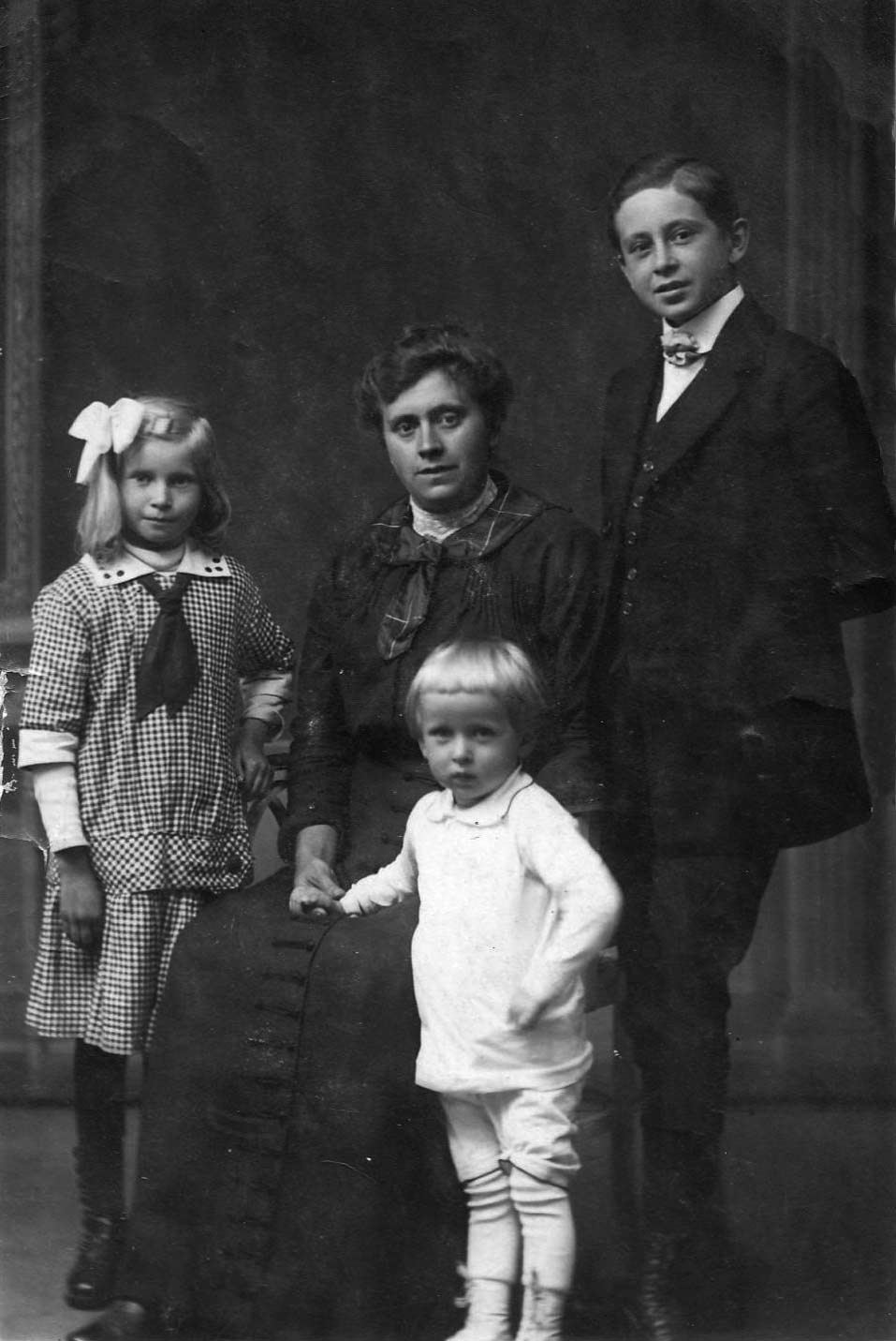 famille blanchebarbe 1916